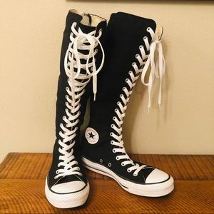 Black Converse XX-Hi Shoes
